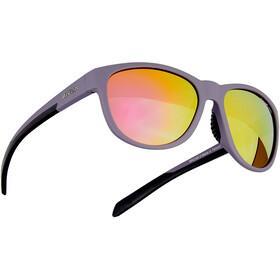 Alpina Nacan II Glasses nightshade matt-black/purple mirror